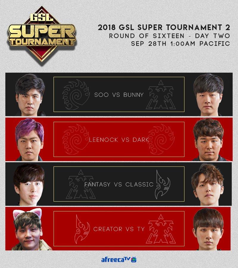 2018 GSL Super Tournament 2 2. nap