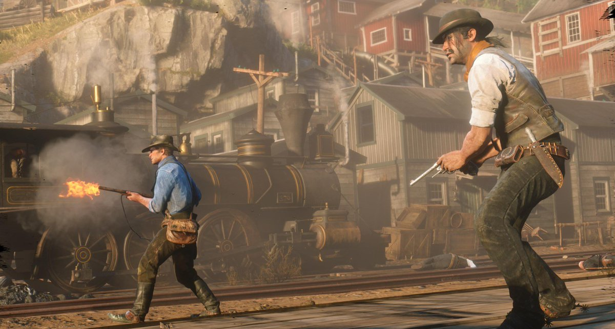 We are exactly 2 weeks away from the release of Red Dead Redemption 2. <br>http://pic.twitter.com/4lzMmrgF5c
