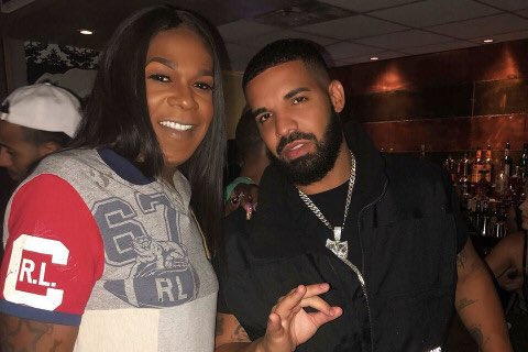"""Drake Brings Out NOLA's Big Freedia As A Suprise Guest To Assist On """"Nice for What."""": https://t.co/OBoUPVOFlo"""