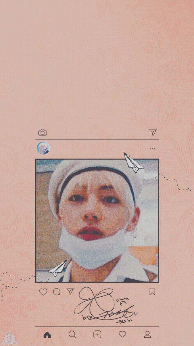 Bts Pics On Twitter Taehyung V Lock Screen Retweet Like If You