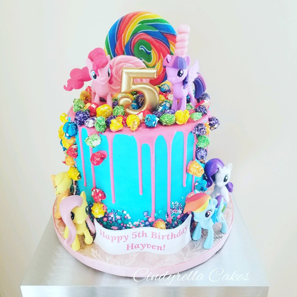 Cindyrella Cakes On Twitter My Little Pony Birthday Cake