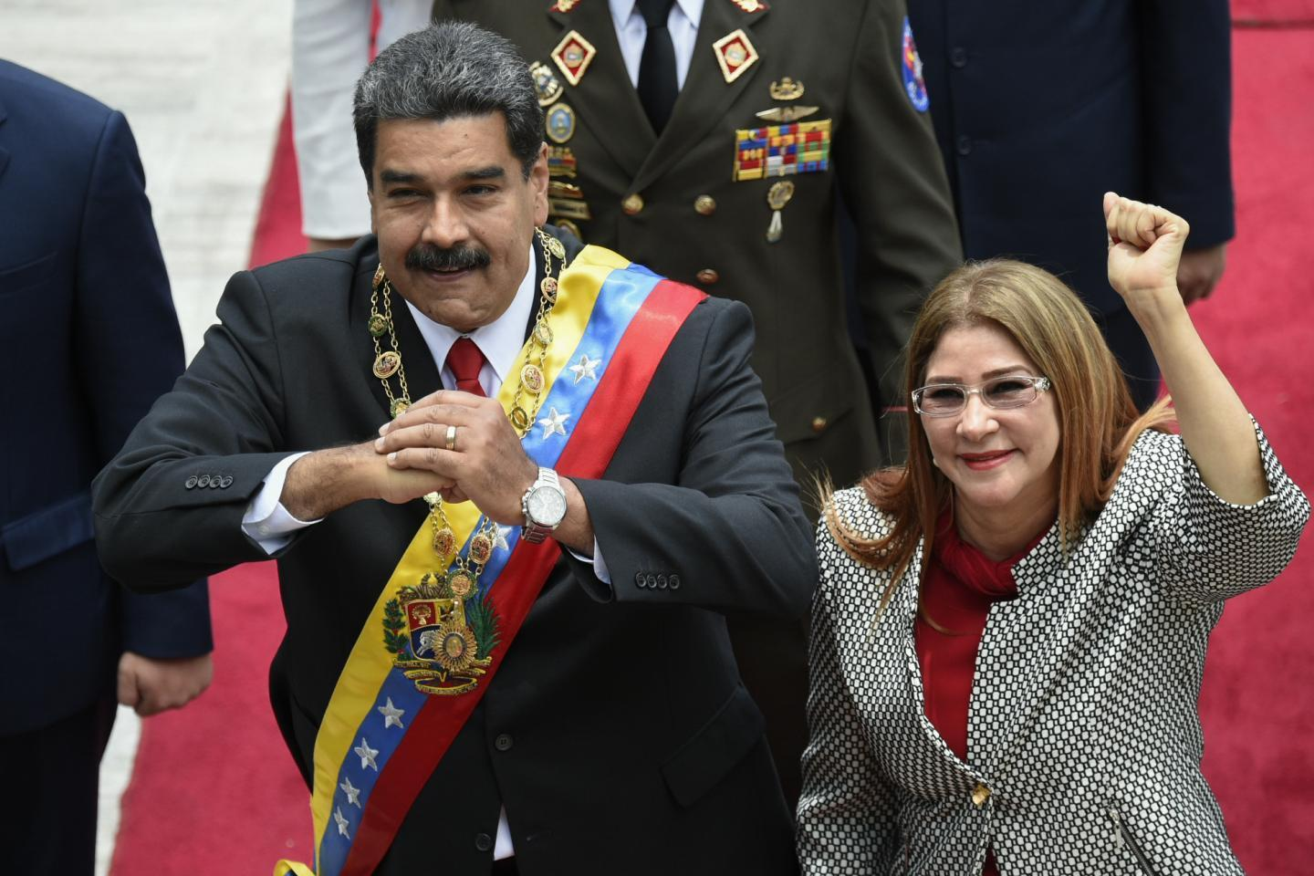 Who is Cilia Flores? Venezuela's first lady sanctioned by the U.S. Department of Treasury https://t.co/htXQAcojAm https://t.co/QsbXXtvvs1