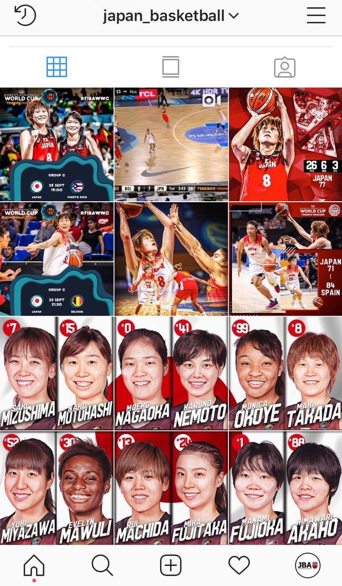 日本バスケットボール協会 Jba Fibawwc での勝利を記念して 日本バスケットボール協会公式instagramのストーリーで Akatsukifive 女子日本代表の壁紙プレゼント ワールドカップ メダル獲得 を 日本一丸 で目指しましょう 公式instagram