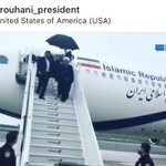 Iran President @HassanRouhani and his delegation arrives in New York to speak at the United Nations General Assembly. President Trump and Secretary Pompeo said theyr ready to meet with Iran but Iranians say the offer is not sincere. All eyes are on these two leaders at the #UNGA