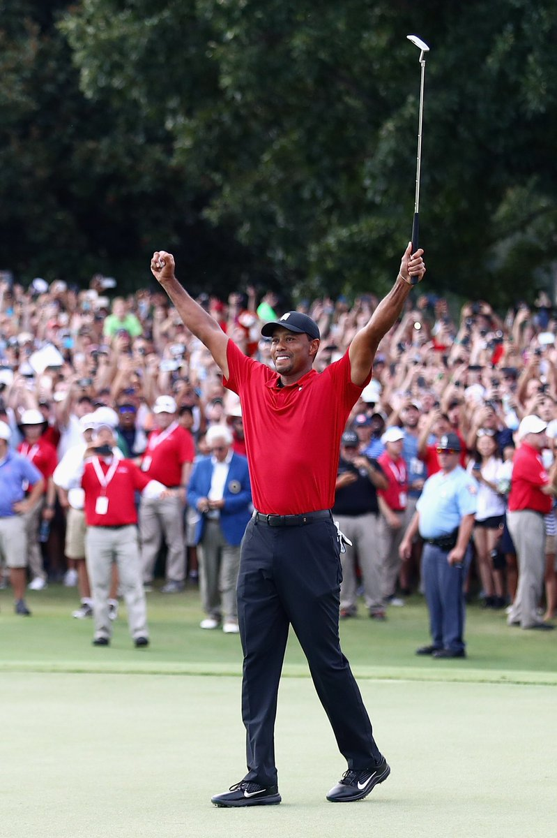 What a weekend for #theMemorial winners! Congrats to our 5-time winner @TigerWoods on an unforgettable @playofffinale victory. And to @JustinRose99 - the latest #FedExCup champ!
