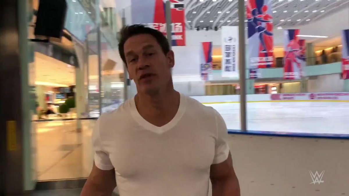 How will @JohnCena fare on the ice when he laces up his skates for the first time in 20 years??