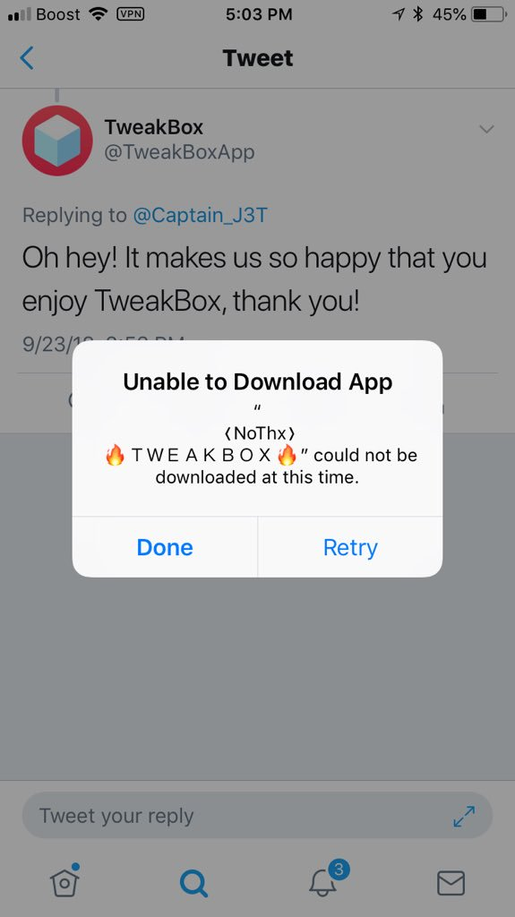 TweakBox on Twitter:
