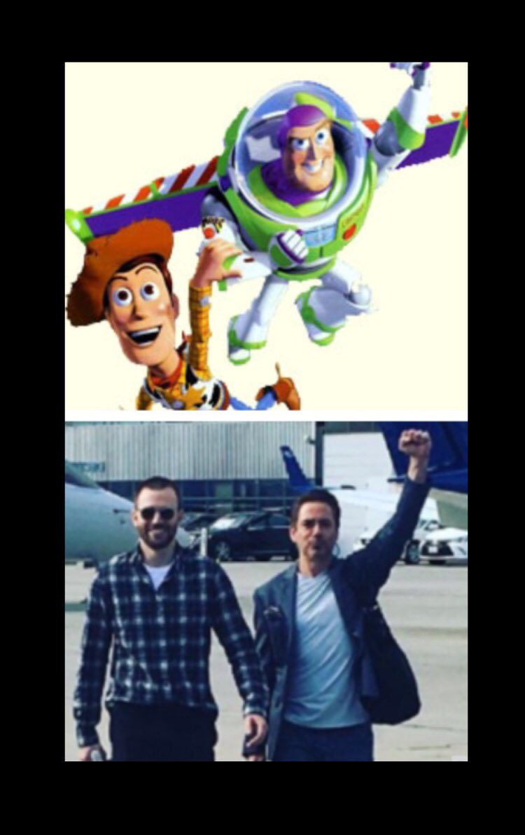 Best pals Chris Evans and Robert Downey Jr. see themselves in other Disney duos