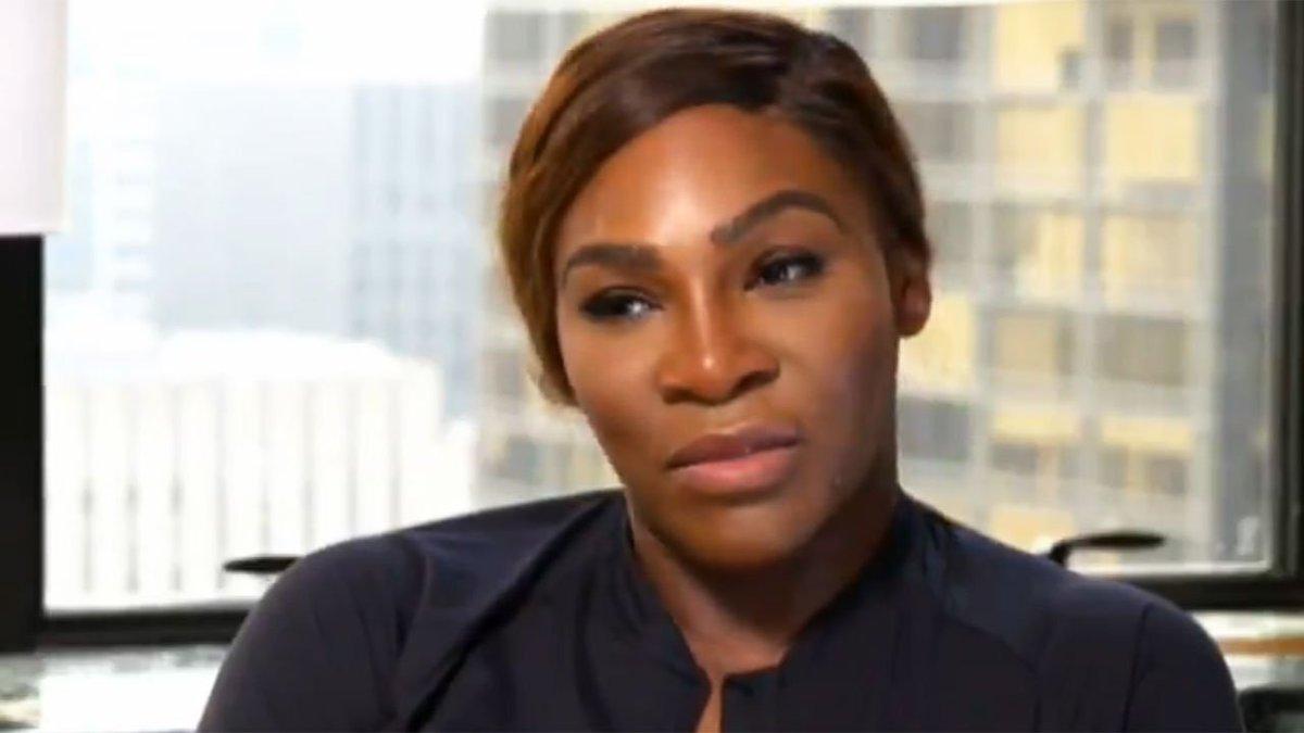 The US Open question Serena Williams refused to answer.  WATCH: https://t.co/e8sFZZtE63 #USOpen