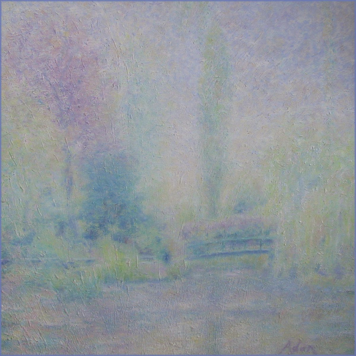My original Paris photography of streets, nights & icons - @FineArtAmerica https://buff.ly/2wjjCbV  © Felipe Adan Lerma  Pictured - Monet's Garden in Rain #IconicParis #impressionismpic.twitter.com/r1cEAWOjq9