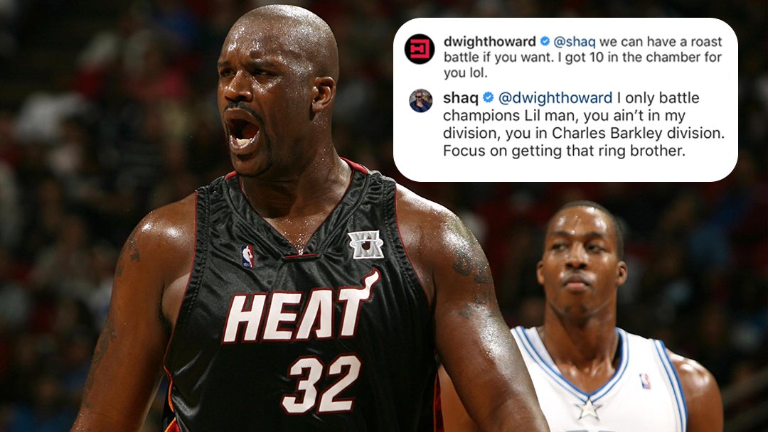 Shaq went there ... �� https://t.co/C1jlcasqmr