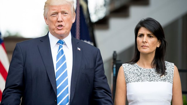 Nikki Haley breaks with Trump: We shouldn't blame or second-guess Kavanaugh accuser https://t.co/UGwp4XcsEy