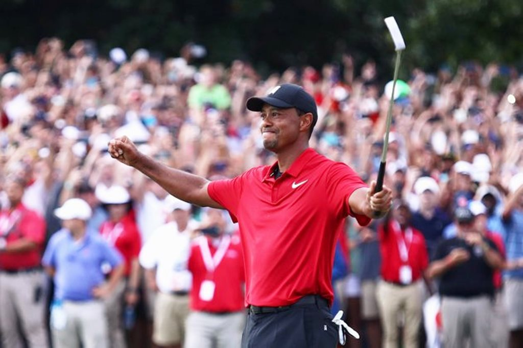 Tiger Woods volvió a ganar luego de más de un lustro #Tigers Woods #Tour Championship #FedEx Cup #Golf acn.com.ve/tiger-woods-re…