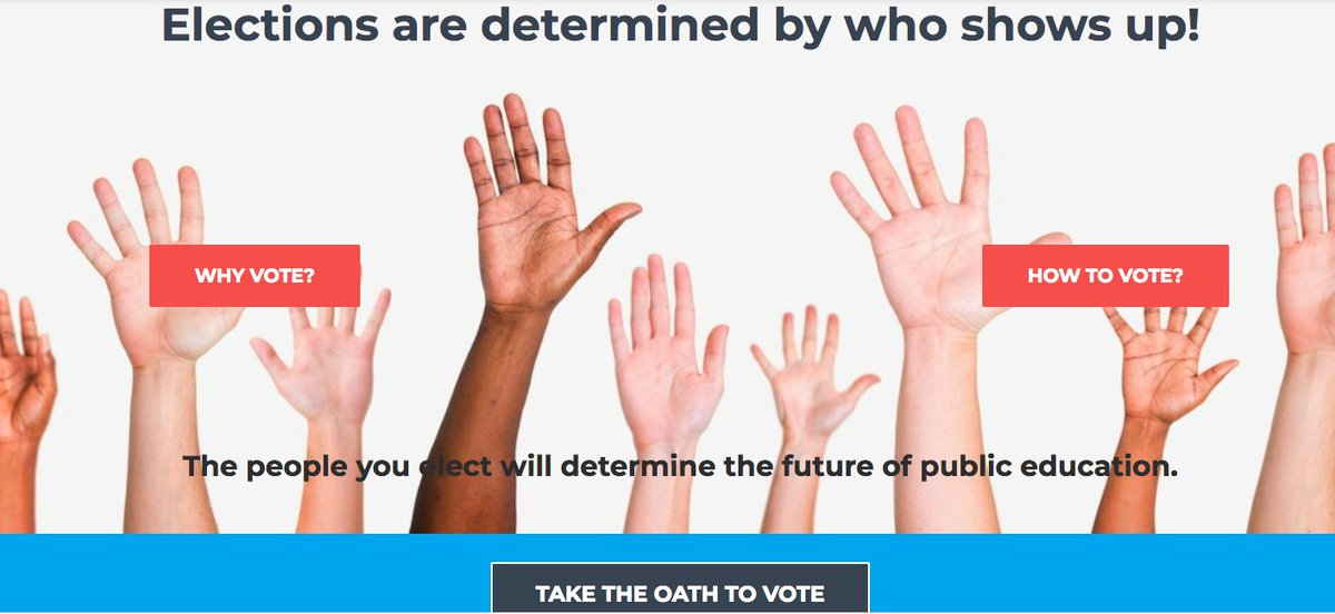 Please register, research, and vote. The future of public education depends on it. https://t.co/vTXrvf2m4B #txed #vote https://t.co/xpJzefOaiS