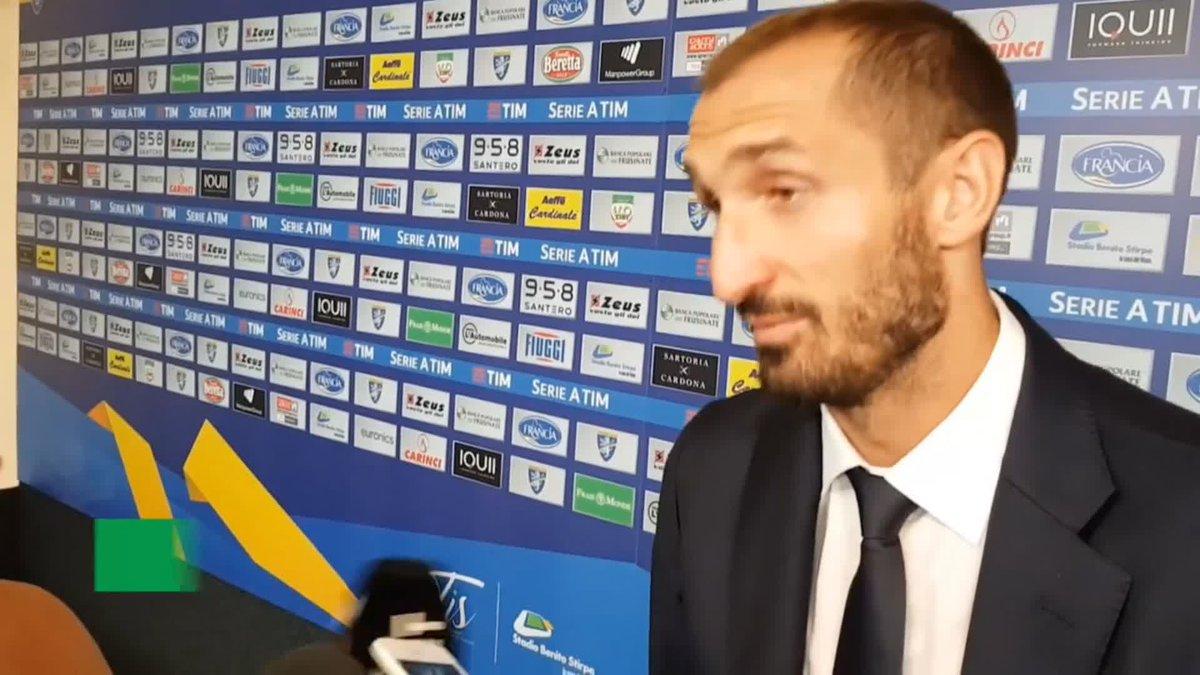 """#Chiellini torna sul rosso di Valencia a CR7: """"Errore importante...""""  - Ukustom"""