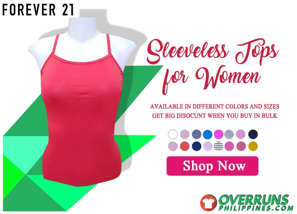 acf971d030 Affordable Overrun Women Sleeveless tops sando from Forever21. More colors  and sizes online. Available in wholesale. Shop now -> http://bit.ly/2wr9vPQ  ...