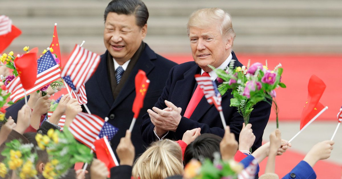 US and China exchange new trade war blows as latest round of tariffs takes effect https://t.co/F5xl9hacGp