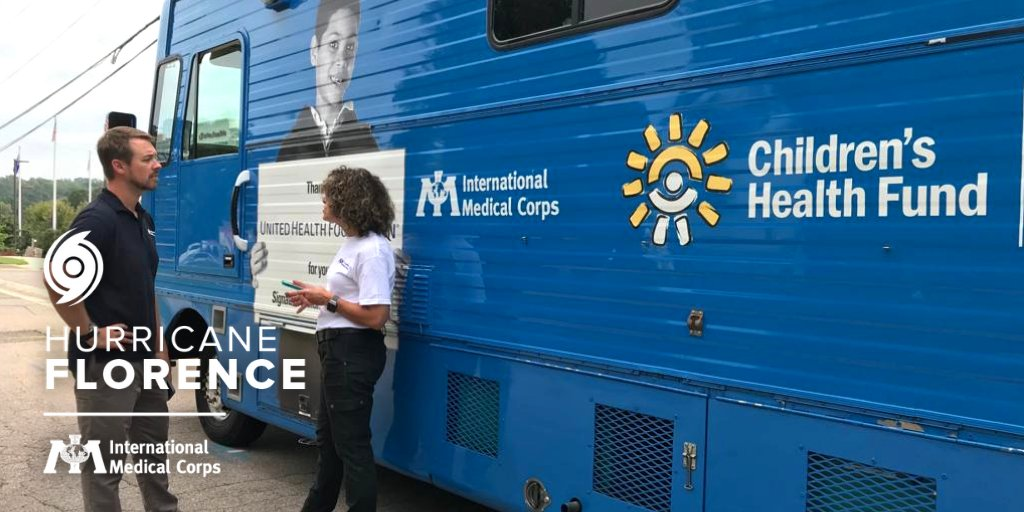 🚑 #FlorenceHurricane2018: Were working w/@chfund to provide medical care through a Mobile Medical Clinic to help communities affected by the catastrophic flooding in the Carolinas caused by #HurricaneFlorence. Help save lives on the ground: bit.ly/HELP-Florence