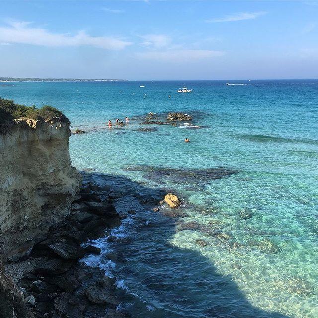 Baia dei Turchi. #otranto #leche #salerno #italia #mare #mediterraneansea #mediterranean #mittelmeer #sea #azure #azura #azur #meer #instagram https://ift.tt/2xyIxq2  - Ukustom