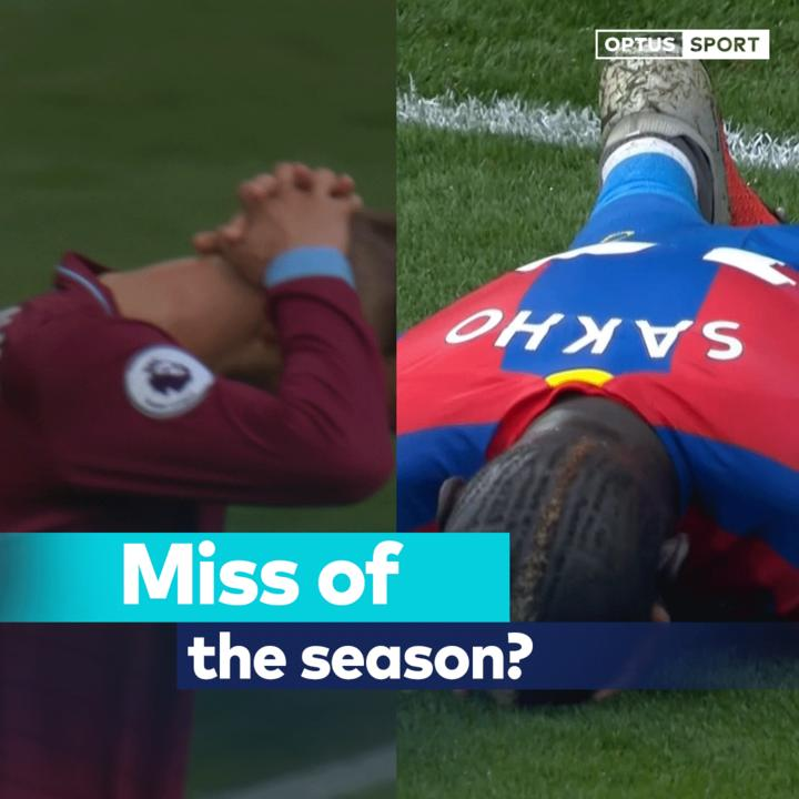 I dont think youll see an easier chance all season. Famous last words. Whose was worse: Yarmolenko or Sakho? #OptusSport #PremierLeague