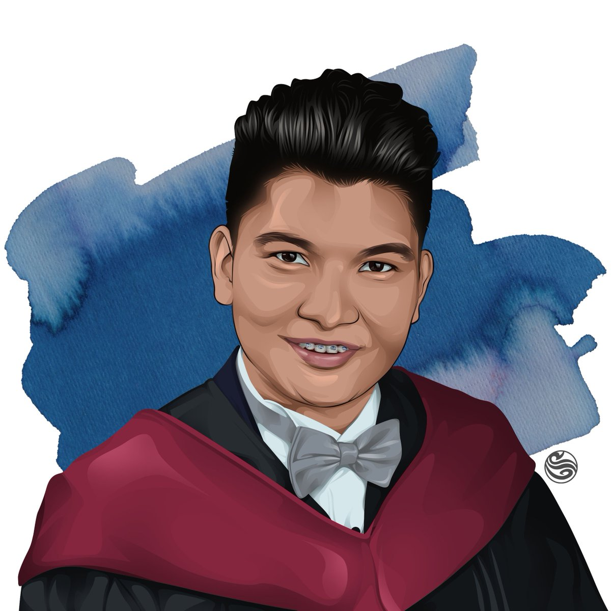 4/18 Presenting the #TeamBraces and #TeamGradPic of my #TheBestieProject  Message me for art commissions :)  #art #artph #artshare #artontwitter #vectorart #digitalart #illustration #commissions<br>http://pic.twitter.com/Ex0gHPEpkw