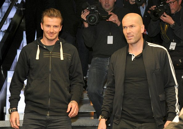 David Beckham is reportedly keen on a reunion with Zinedine Zidane. Its the gossip: bbc.in/2MXkl5E