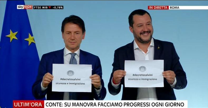 #UltimOra #Conte: su #Manovra facciamo progressi ogni giorno. #Salvini: manderemo decreto #sicurezza al più presto al Colle #Canale50 http://sky.tg/direttaskytg24  - Ukustom