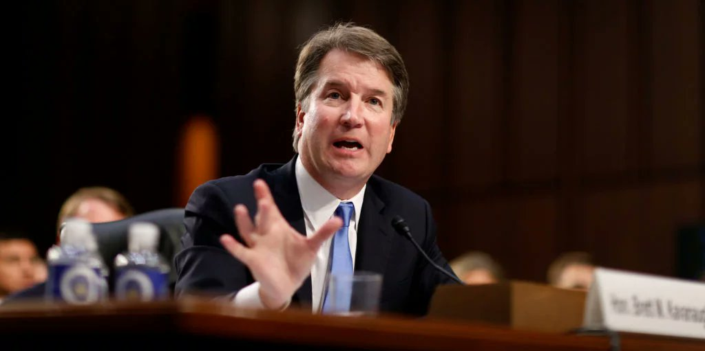 TODAY: Sen. Dianne Feinstein is calling for the postponement of nomination proceedings for Judge Brett Kavanaugh after a second woman has come forward alleging sexual misconduct. We speak with @jljacobson of @Rewire_News & , 8-@alexisgoldstein9AM ET: https://t.co/Xup8cdtnFB