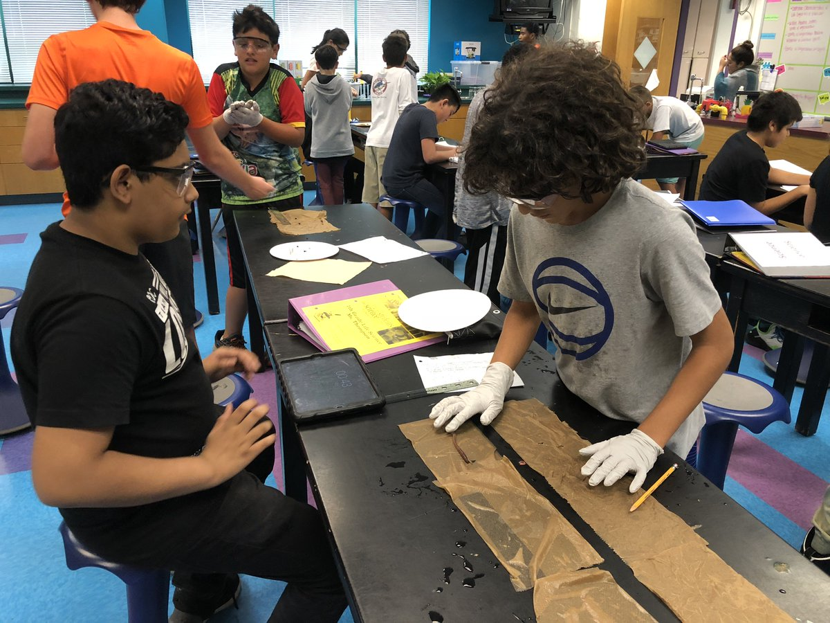 7th grade students <a target='_blank' href='http://twitter.com/GunstonMS'>@GunstonMS</a> doing an open ended inquiry investigation with earthworms!!  So fun working with the students on developing their procedures for carrying out this investigation.<a target='_blank' href='http://search.twitter.com/search?q=sciencerocks'><a target='_blank' href='https://twitter.com/hashtag/sciencerocks?src=hash'>#sciencerocks</a></a> <a target='_blank' href='https://t.co/qHmdEtIh2S'>https://t.co/qHmdEtIh2S</a>
