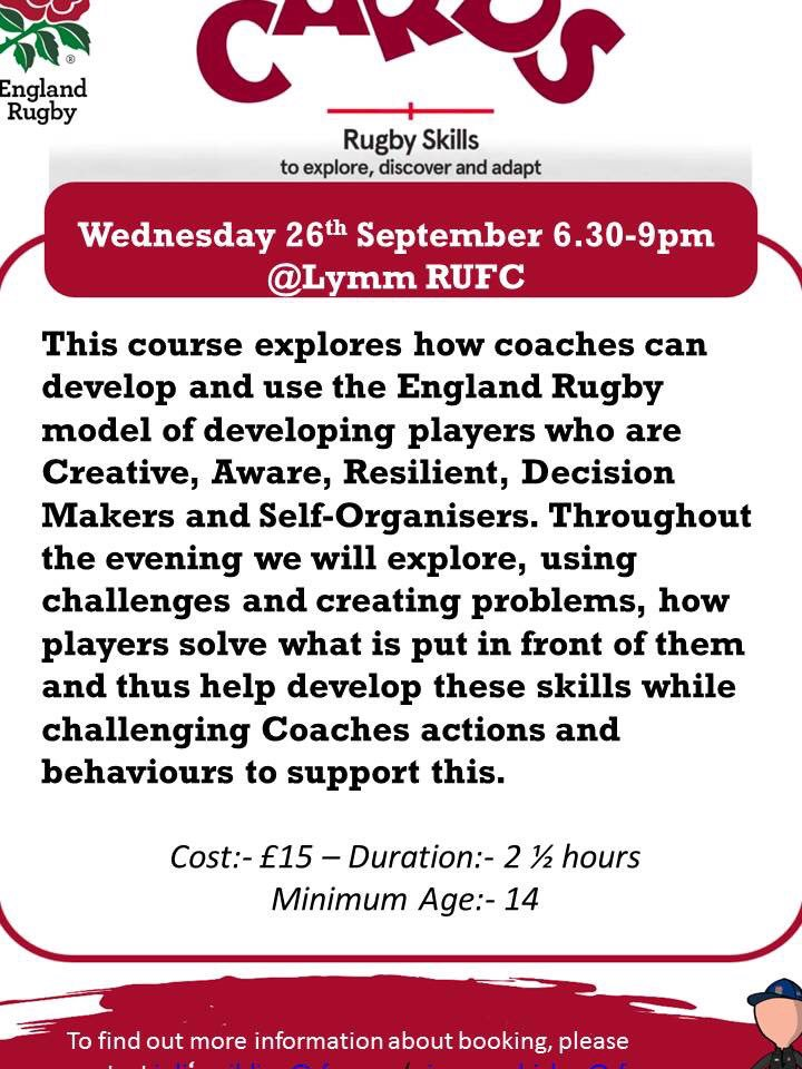 test Twitter Media - It was great catching up with many of your club coaches yesterday at the U12 @QKidsFirst at @WirralRUFC, @SandbachRUFC, @Stockportrugby to back this up we are running another CARDS CPD @LymmRugbyClub on Wednesday 26th at 6.30-9pm. Please book on ASAP:- https://t.co/1THfKpWikn https://t.co/RuB740Azgr