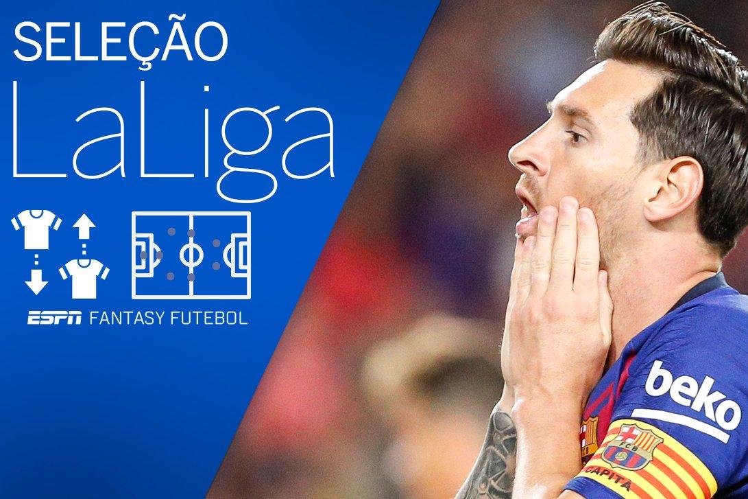 Messi entra na seleção, mas é superado por 3 em rodada incomum no Fantasy da Liga; veja a seleção https://t.co/ionmzS9LtS