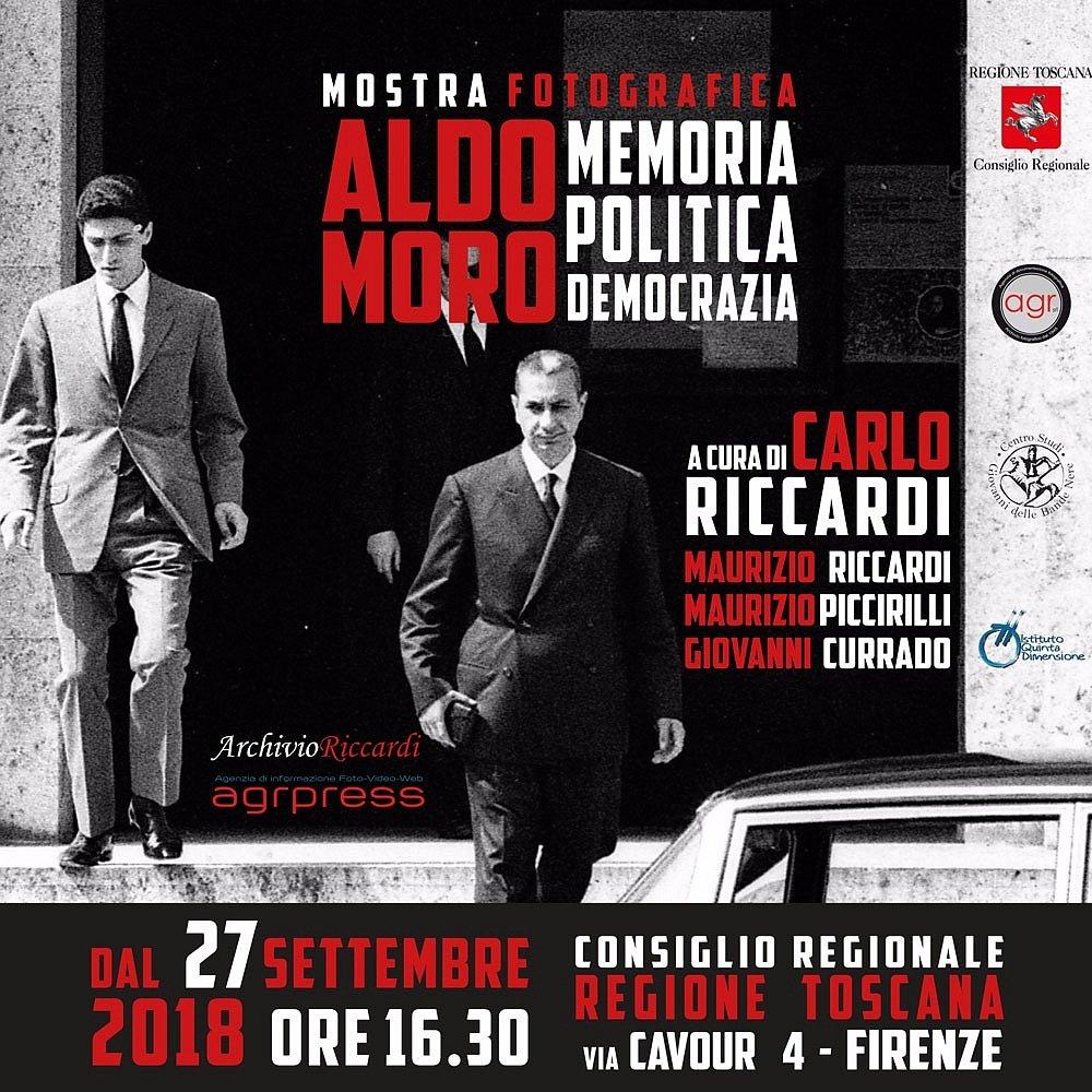 Dal 27 settembre a Firenze la mostra #AldoMoro realizzata con @mauriccardi sarà esposta al Consiglio regionale della #toscana, in via Cavour 4 a #firenze. @CRToscana @comunefi #ArchivioRiccardi  - Ukustom