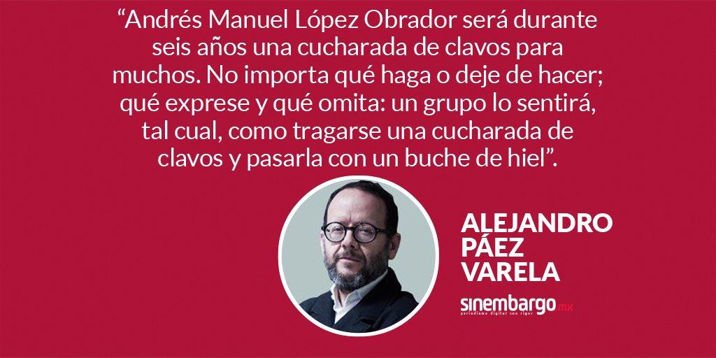 #Opinión 'Cucharadas de clavos', por Alejandro @paezvarela https://t.co/337CSv3sFv