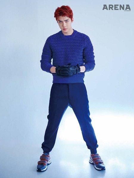 [FOTO] #Sehun dal sito di Arena Korea Homme + (2/2)#EXO #weareoneEXO #EXO_ComingSoon #EXOPLANET @weareoneEXO  - Ukustom