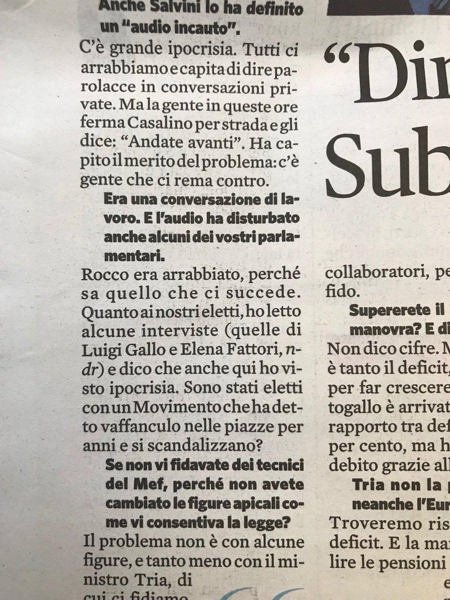 """Scandalizzarsi per un """"pezzo di m"""" non ha senso se sei andato per anni a dire vaffanculo nelle piazze, dice Luigi Di Maio, per provare a non perdere la gara di rutto libero con l'altro vicepremier"""