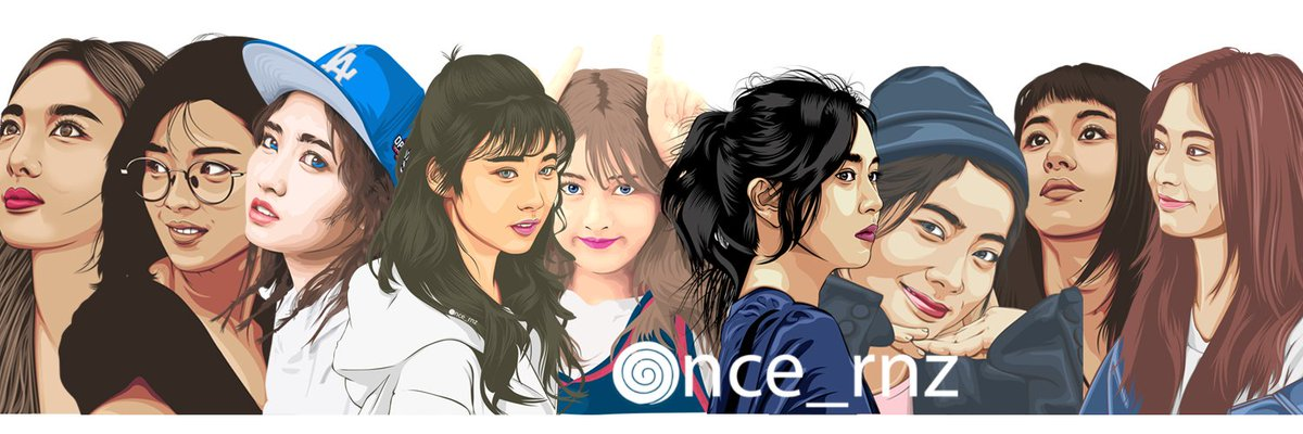 &quot;Dedication&quot; Twice Fanart  Started just from watching a vexel art time lapse video + vexel art tutorial videos + asking many questions from art masters + inspired by twice  #TWICE #ONCE #vectorart #twicefanart #트와이스 #나연 #원스<br>http://pic.twitter.com/VR2KzJu1gn