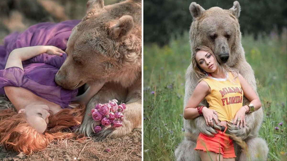 The Bizarre Story Behind These Sensual Photos of Women and Bears https://t.co/e285evznX8