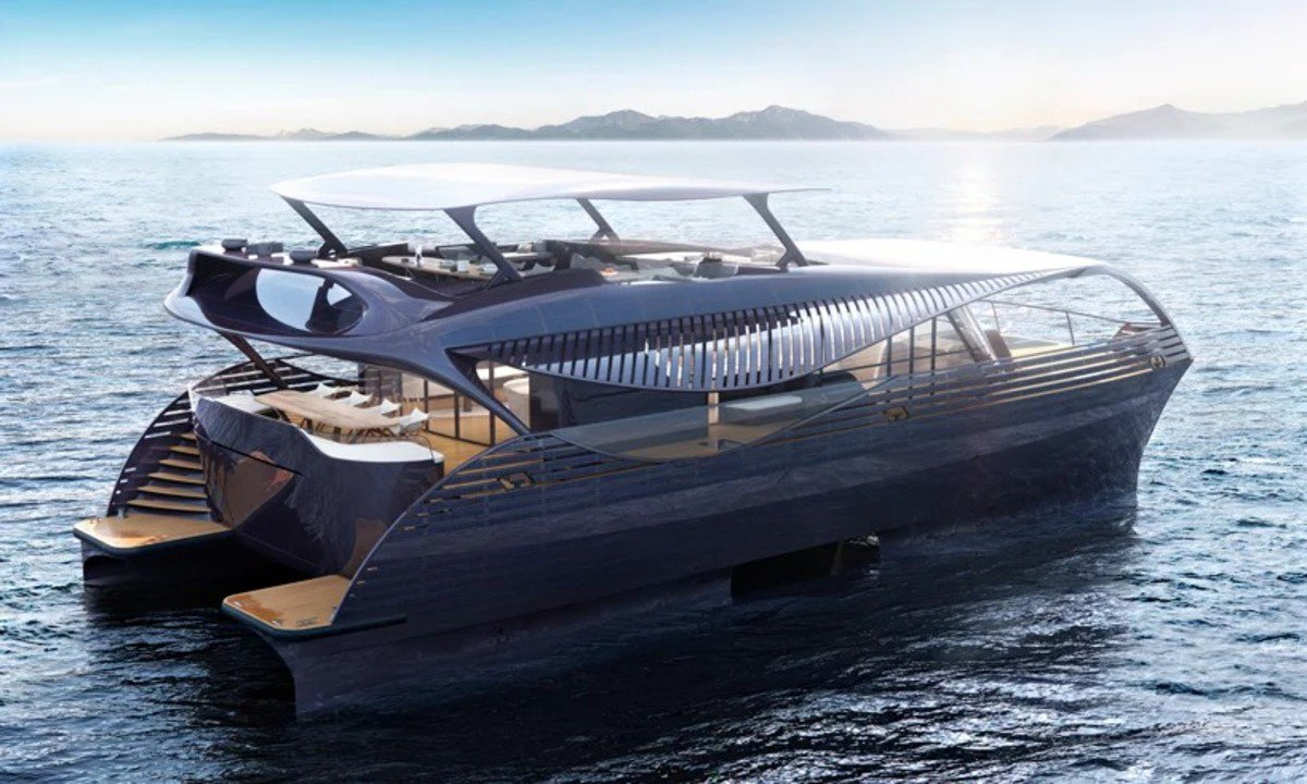 世界初、太陽光発電のみで航行できる海洋クルーザー「SOLARIMPACT」 #船ボート #エコロジー #デザイン #プロダクト https://t.co/zfg2Y00VQ7