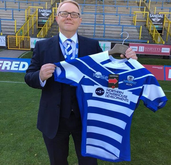 test Twitter Media - We are delighted to announce a new long term kit supply agreement with @Halifax_RLFC  Read more here>>https://t.co/BM9nKttjTZ https://t.co/pXHjKP4FUL