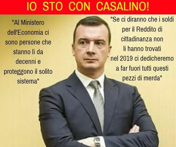 I farabutti si indignano per le parole di #Casalino, non per aver affamato gli Italiani e favorito i privilegi della casta #Cialtroni!  - Ukustom
