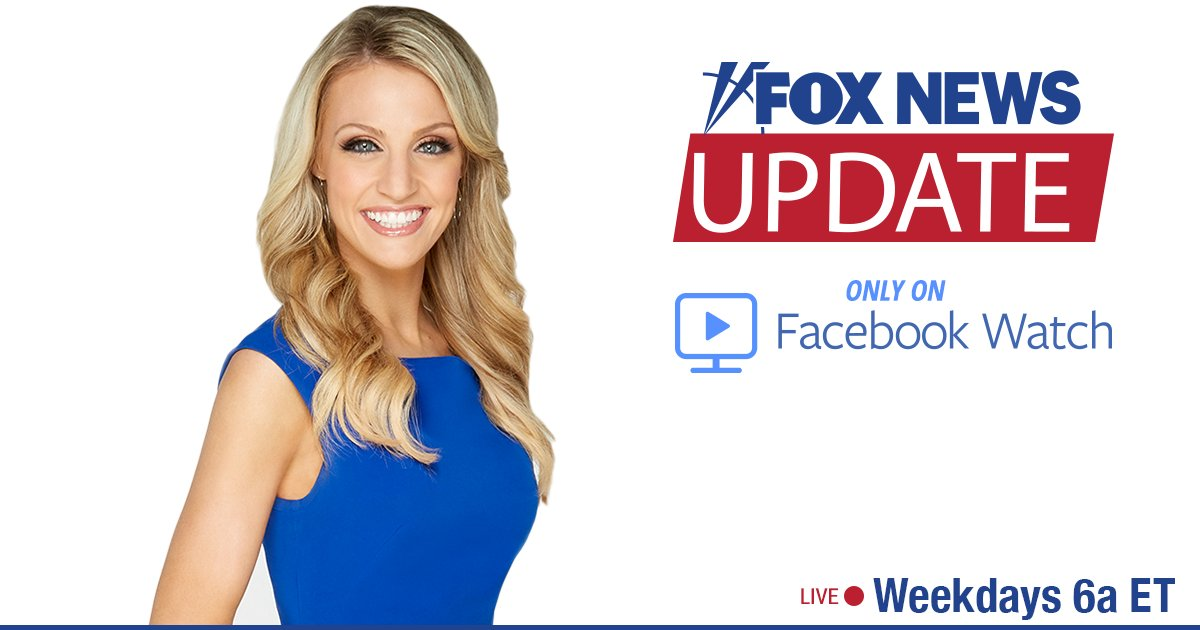 .@CarleyShimkus is live with the 'Fox News Update' on Facebook Watch: https://t.co/hNrB8xzepH https://t.co/AqRt6rqInM