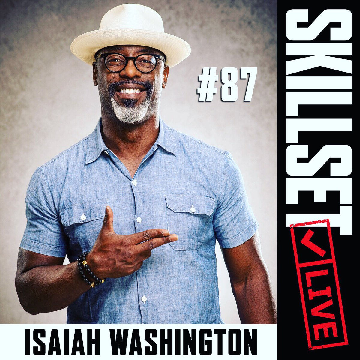 Acclaimed actor, Isaiah Washington joins the Skillset crew to talk firearms, military life and blazing a trail in Hollywood…his way. On @iTunes  @Spotify @SoundCloud @GooglePlay @iHeartRadio THIS: https://t.co/ijAaKpDYPK
