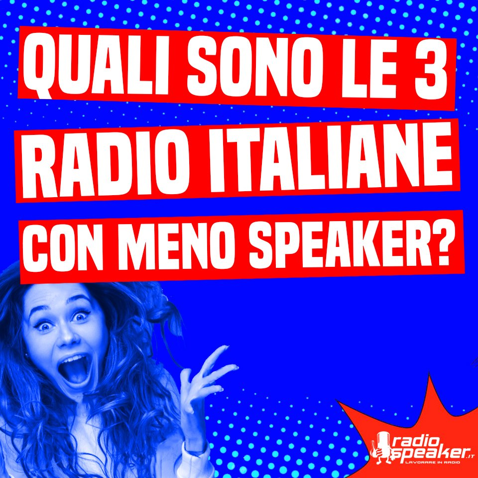 Quali sono le 3 #Radio italiane con meno #Speaker nel #Palinsesto?  3 @radiokisskiss 2 @IsoradioRai 1 Scopri qui di chi parliamo  http://goo.gl/evGsYQ#Radiokisskiss #KissKiss #Rai #Isoradio #RaiIsoradio  - Ukustom