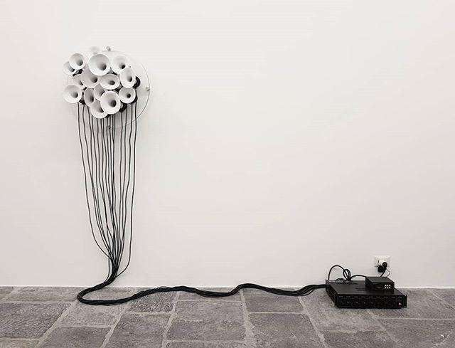 #RobertoPugliese #sculpture @fondazione_arnaldo_pomodoro #Milan #SoundArt #ContemporaryArt https://t.co/YNgzKuNi0O