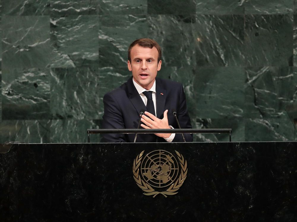One year on, Macron returns to the UN with ambitions curtailed https://t.co/ZfvuWgG0EI via @gviscusi #tictocnews