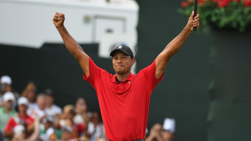 Athletes and fans hail Tiger Woods' comeback victory at the Tour Championship in Atlanta https://t.co/DFZPD5uszQ https://t.co/oOXI55Gr2j