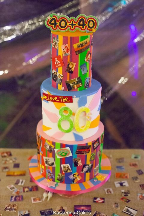 This Cakes Doubles As Spot The 80s Favourites Game Too Can You Recognise Your In There Lovethe80s Retroparty 1980scake 1980s