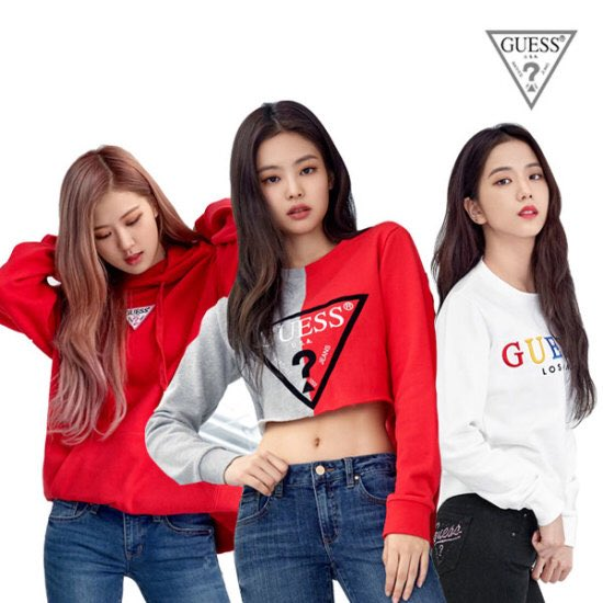 Lisanations On Twitter Update 180924 Blackpink For Guess X