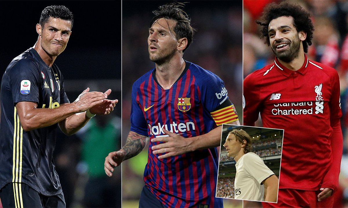 Lionel Messi and Cristiano Ronaldo give FIFA's The Best awards a miss as Luka Modric aims to break dominance https://t.co/9lmT7kKC9q