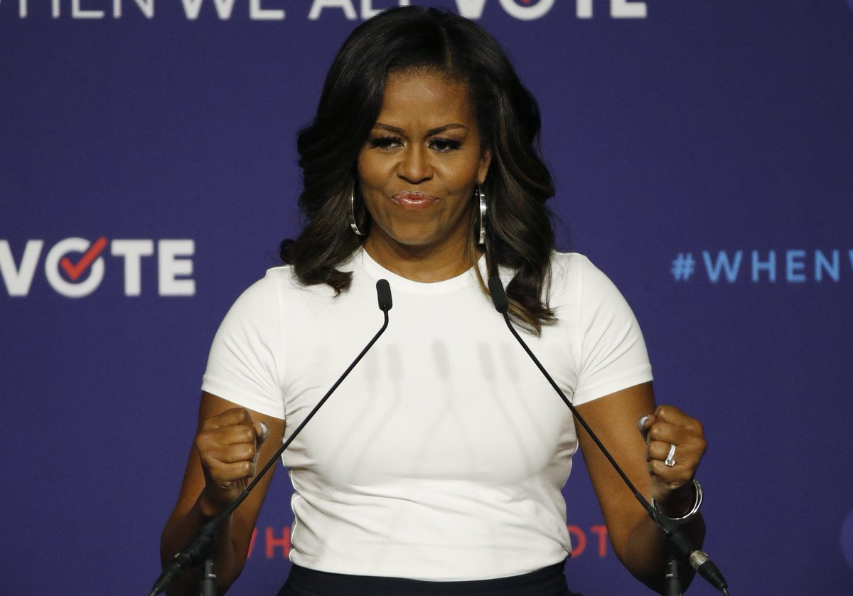 Michelle Obama drums up voter participation at Nevada rally https://t.co/xPvXu1Hzkp